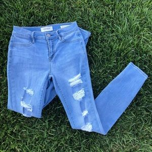 PacSun Distressed Jeggings